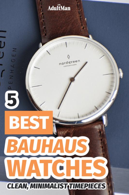 5 Best Bauhaus Watches: Clean, Minimalist Timepieces