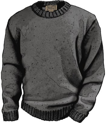Duluth Trading Co Shetland Wool Sweater