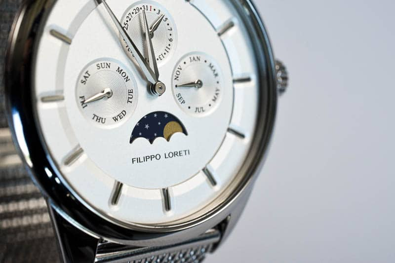 Filippo Loreti Venice moonphase detail