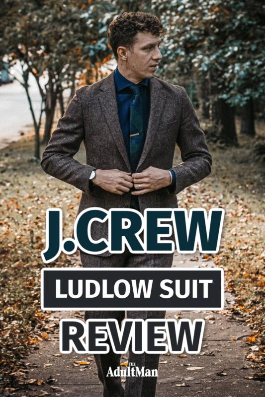 J.Crew Ludlow Suit Review: The Everyman Suit