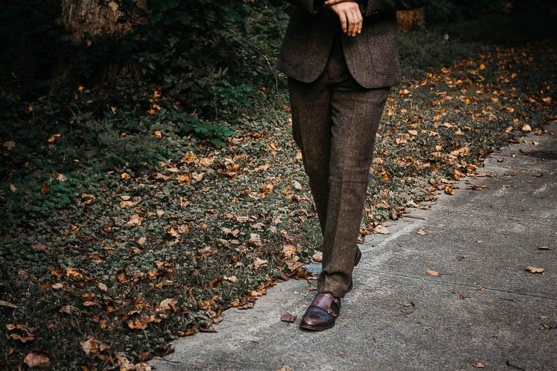 JCrew Ludlow english wool pants