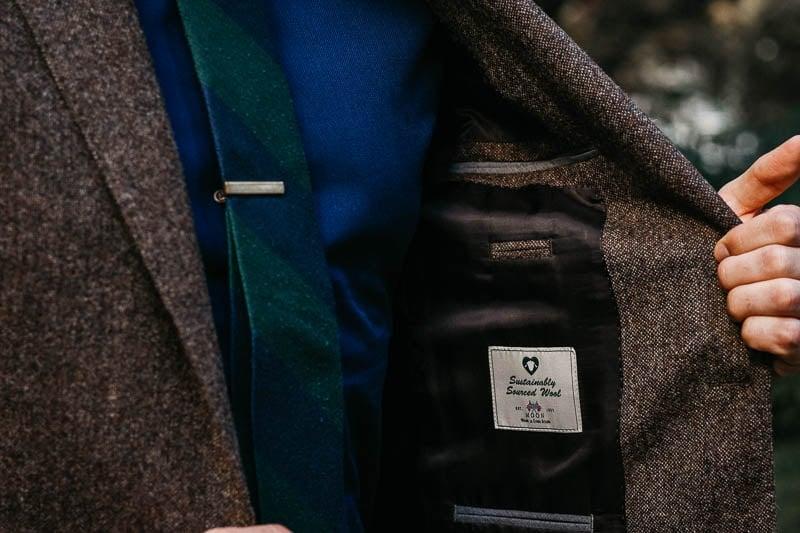 JCrew Ludlow suit jacket lining detail