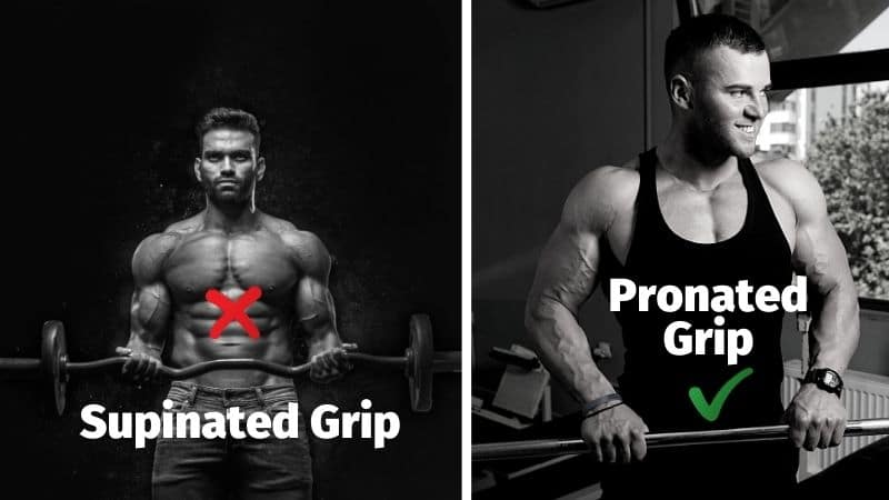 Supinated vs Pronated Grip