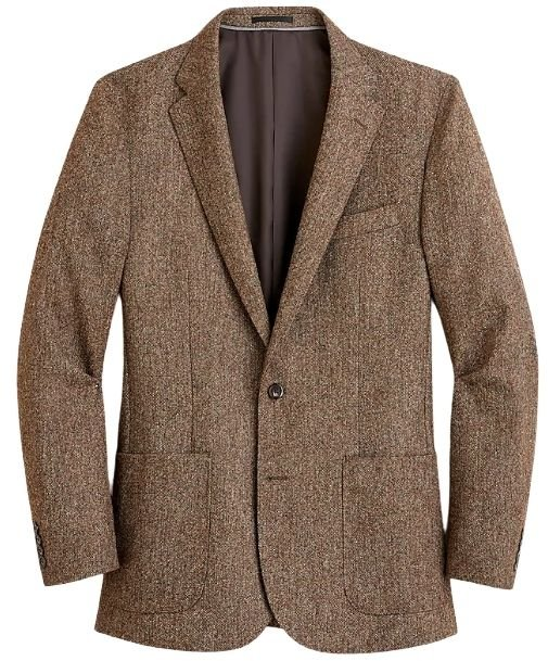 J.Crew Ludlow Unstructured English Wool Suit Jacket
