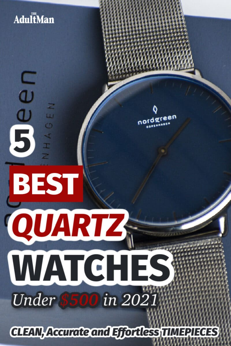 5 Best Quartz Watches Under $500 in 2021: Accurate and Effortless