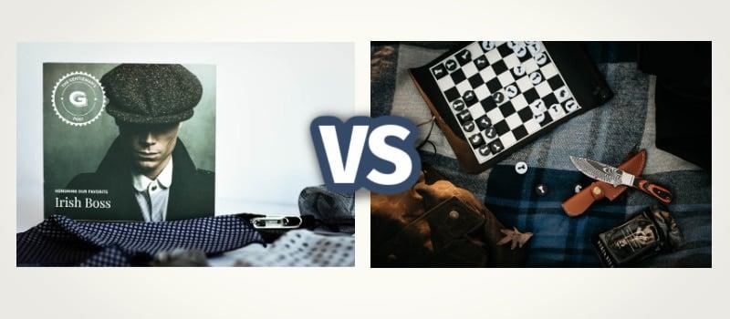 Gents Box Premium vs classic