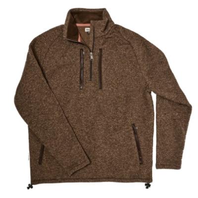 Tom Beckbe Knit Fleece Quarter Zip