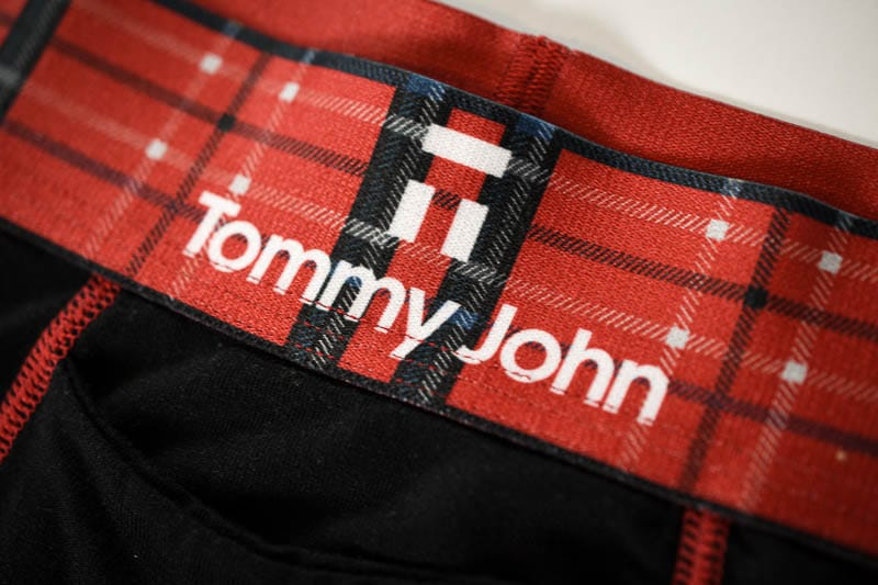 Tommy John christmas holiday underwear with red band 1