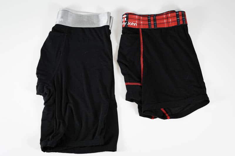 Tommy John trunks and boxer briefs side by side 1