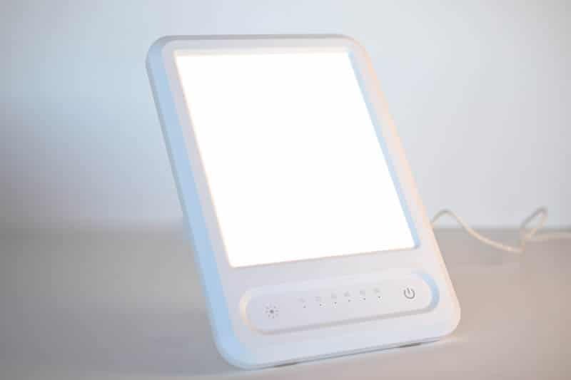 closeup BREO BOX uv light emitter