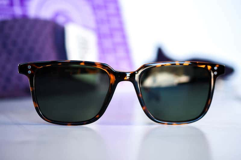 closeup sunglasses
