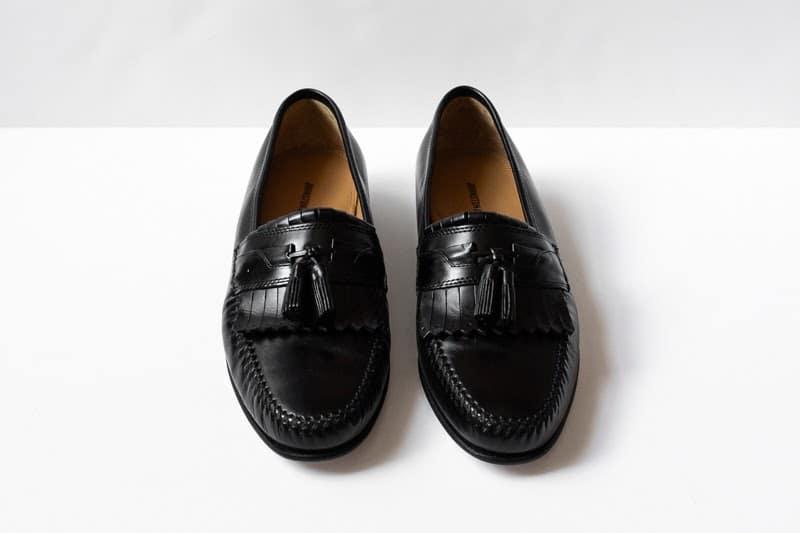 Breland Kiltie Tassel loafers from front