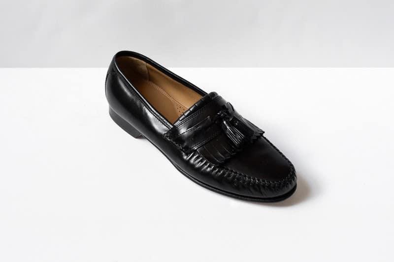 Breland Kiltie Tassel loafers from side single shoe