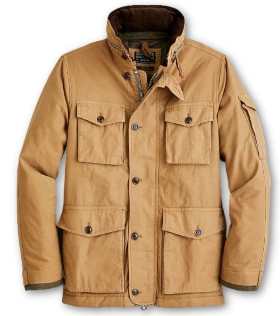 J.Crew Insulated Field Mechanic Coat