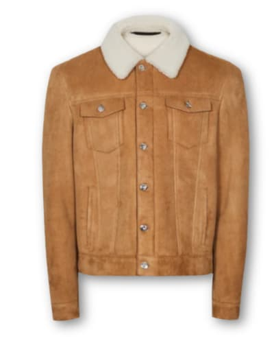 Reiss Shearling Ranch Jacket