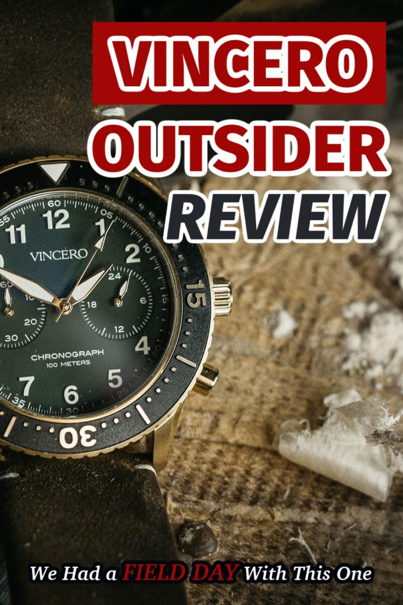 Vincero Outrider Review: We Had a Field Day With This One