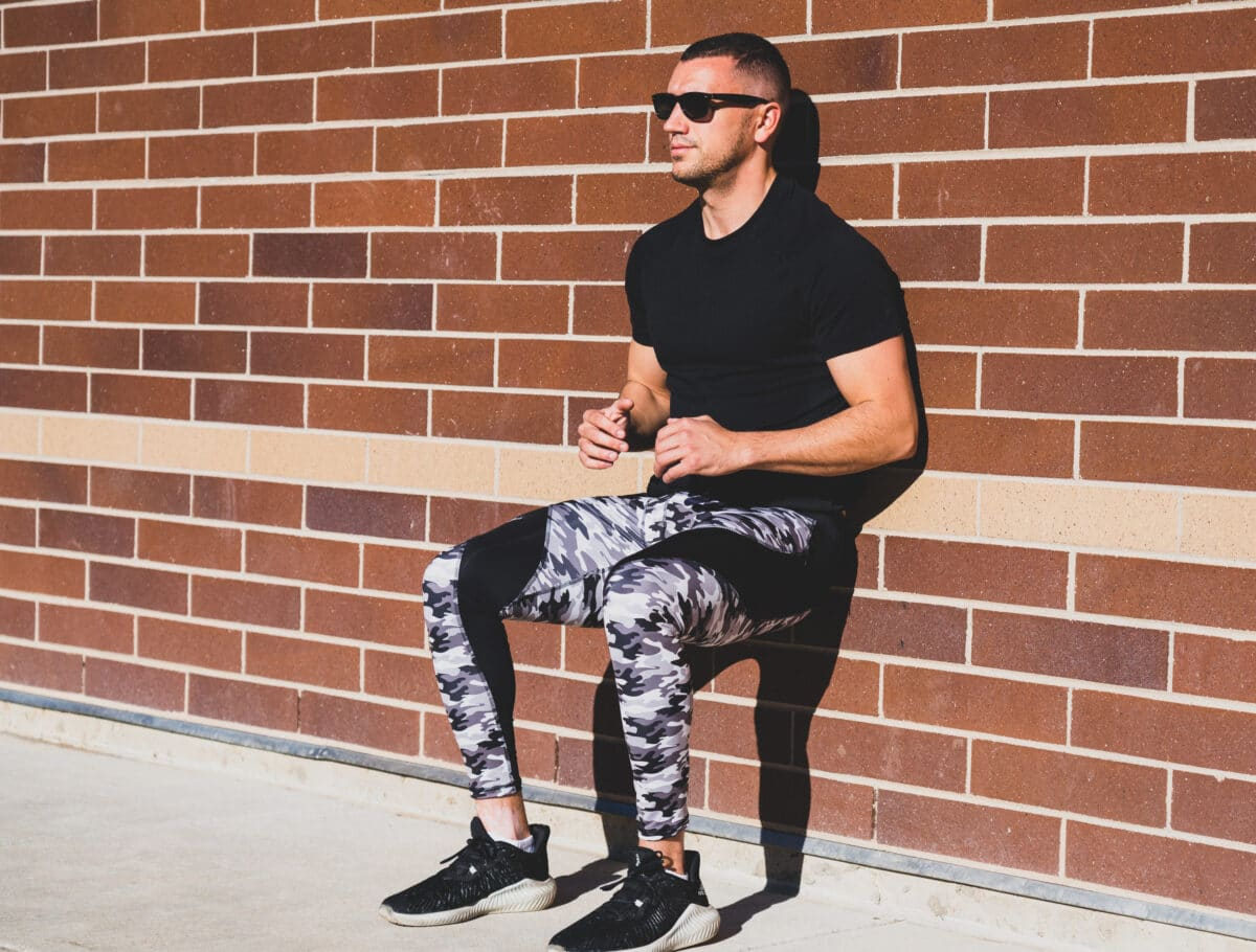 Matador Meggings grey camo leggings