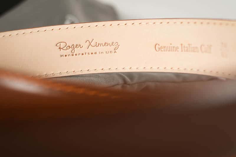 Roger Ximenez branding detail