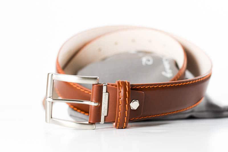 Roger Ximenez buckle and belt brown