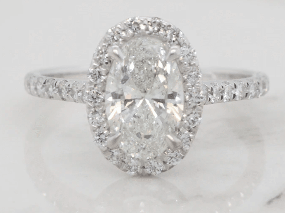 Siroo Halo Engagement Ring