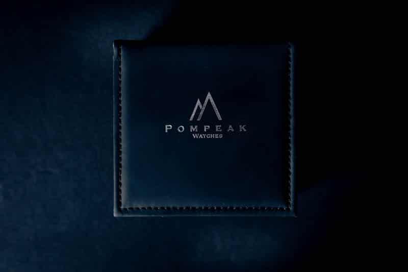 Pompeak watches black packaging