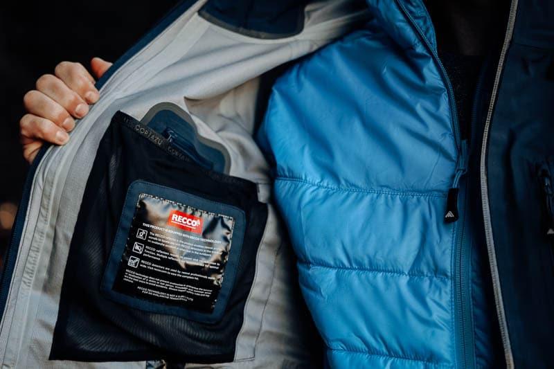recco locator in Cortazu mountain jacket