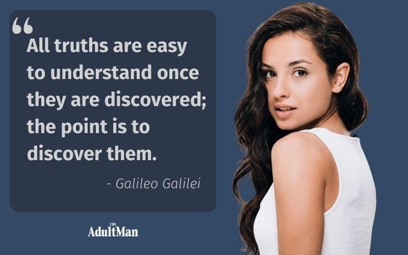Galileo Galilei quote