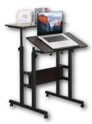 Hart 2-Tier Mobile Standing Desk