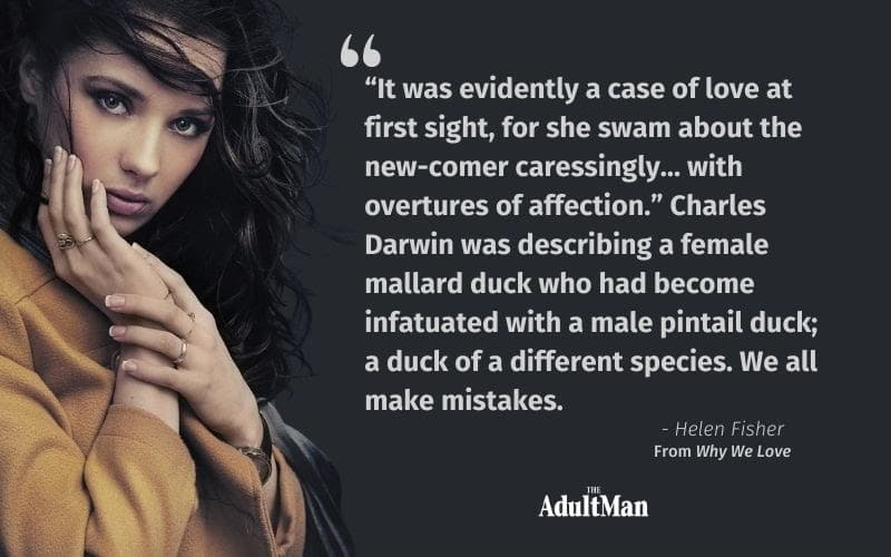 Helen Fisher Quote About Charles Darwin