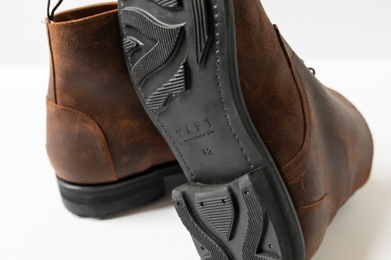 Taft Dragon 3.0 sole detail handcrafted in spain