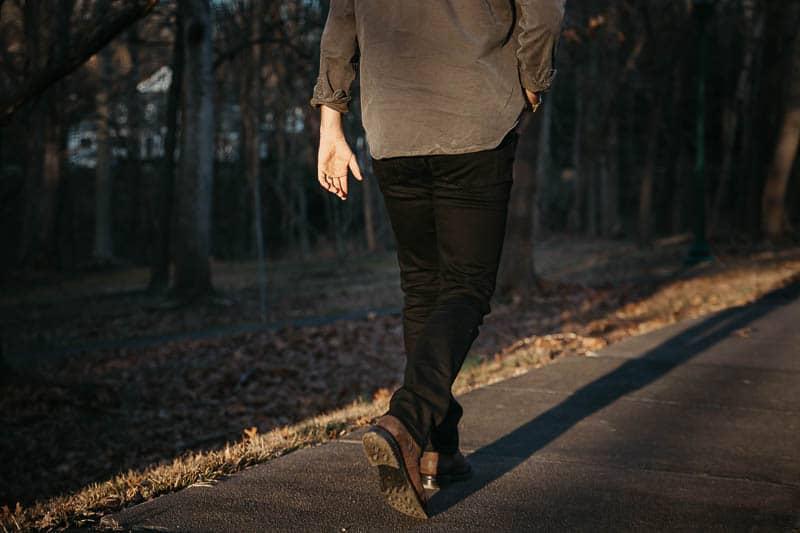 The Perfect Jean bandit black jean backside