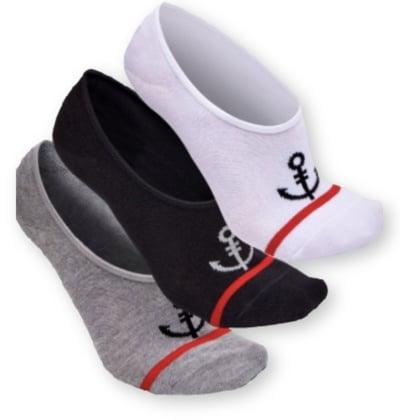 Fresh Clean Tees No-Show Socks