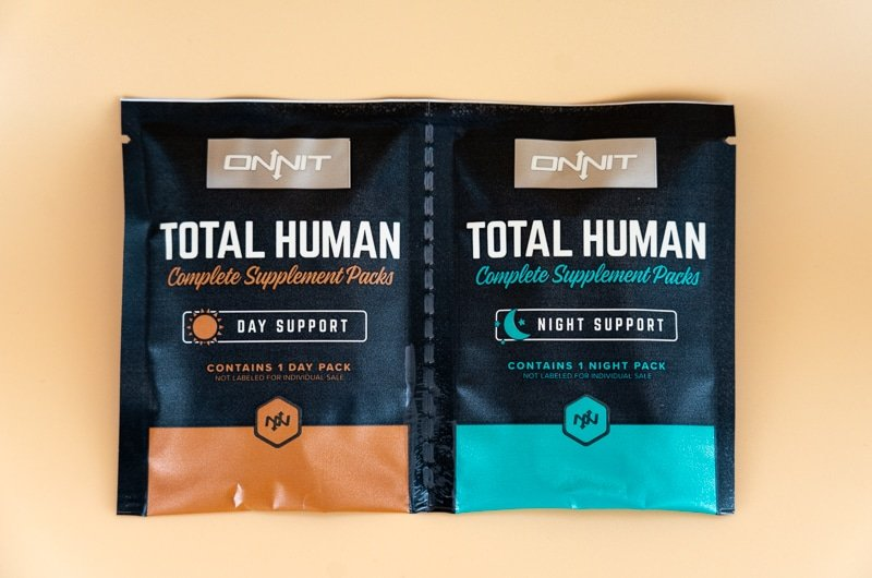 Onnit Total Human packs