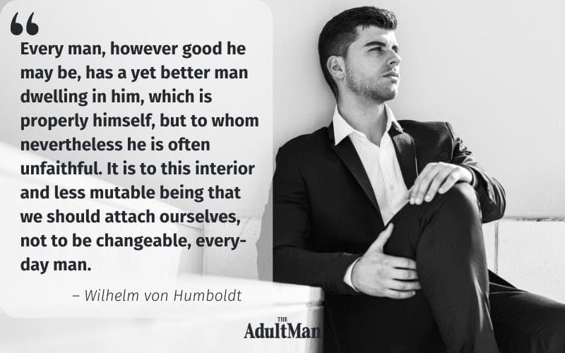 Wilhelm von Humboldt quote