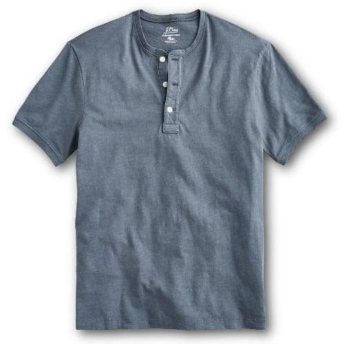 J.Crew Garment Dyed Slub Cotton Henley