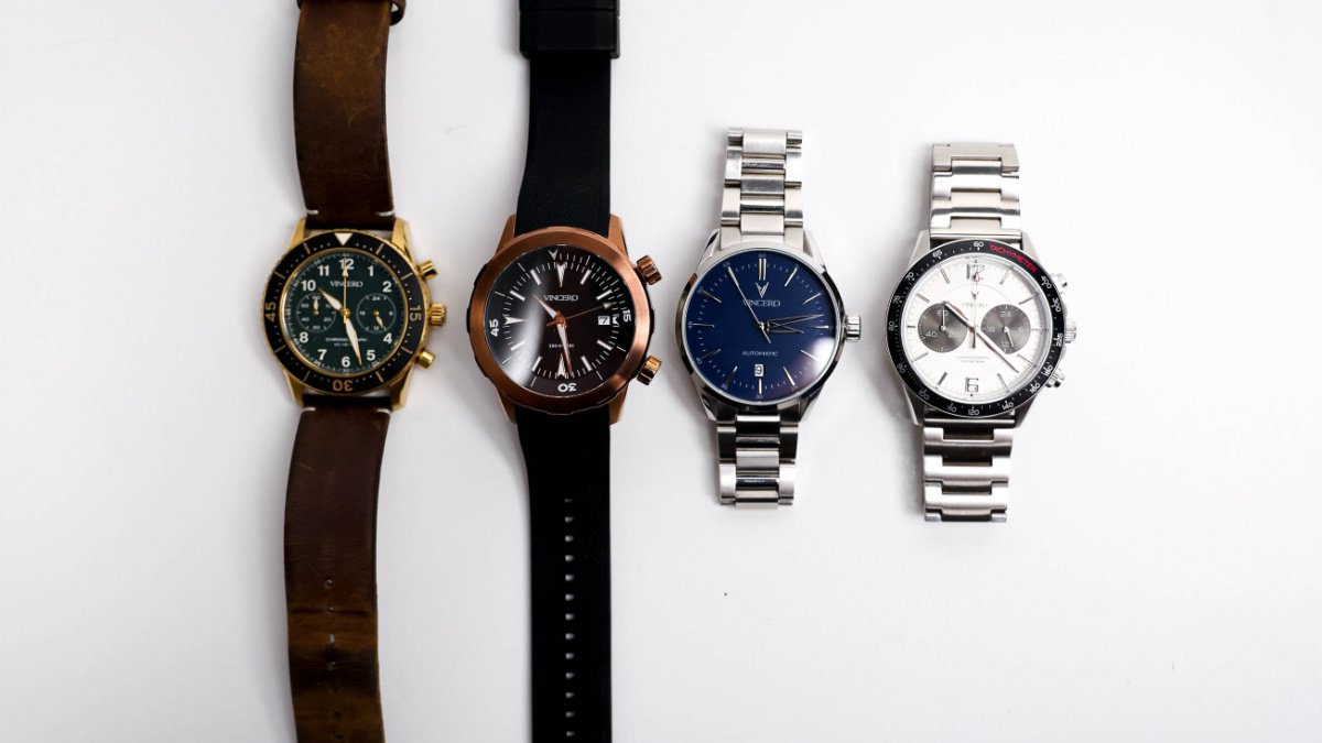 4 Types of Watches Every Man Should Own