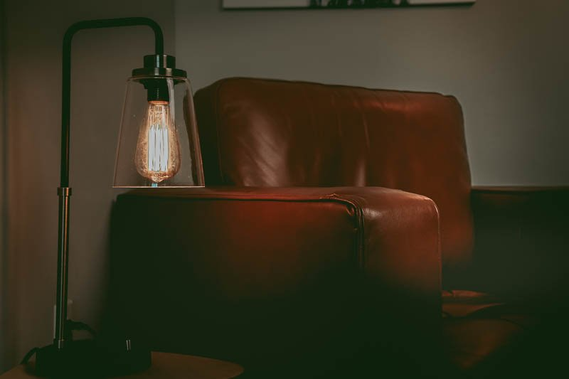 Apt 2b stetson table lamp lighting leather chair