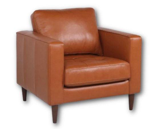 Jensen Leather Chair from Apt2B
