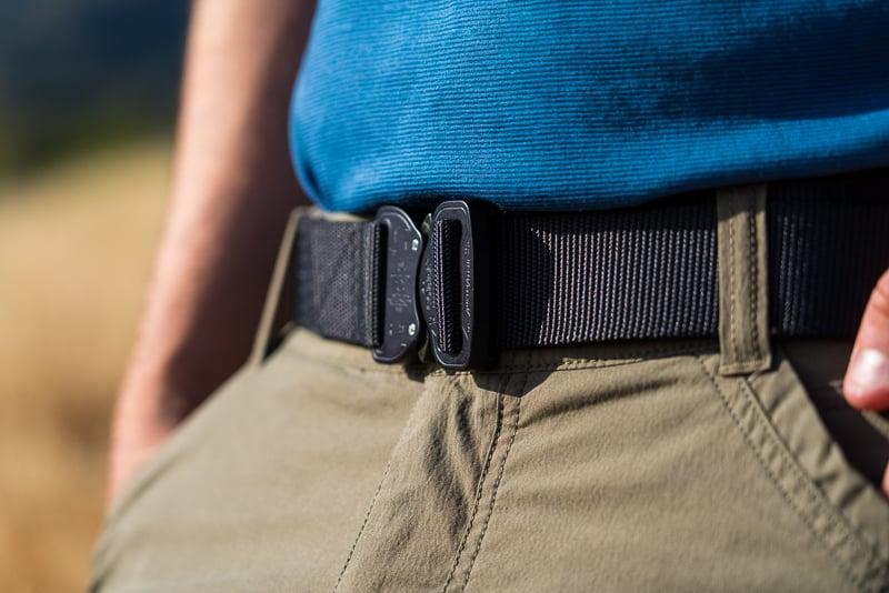 Black nylon Klik Belt