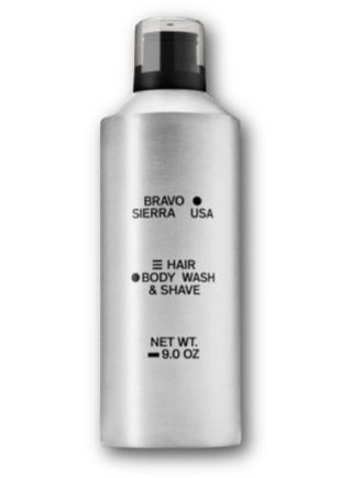 Bravo Sierra Hair/Body Wash & Shave
