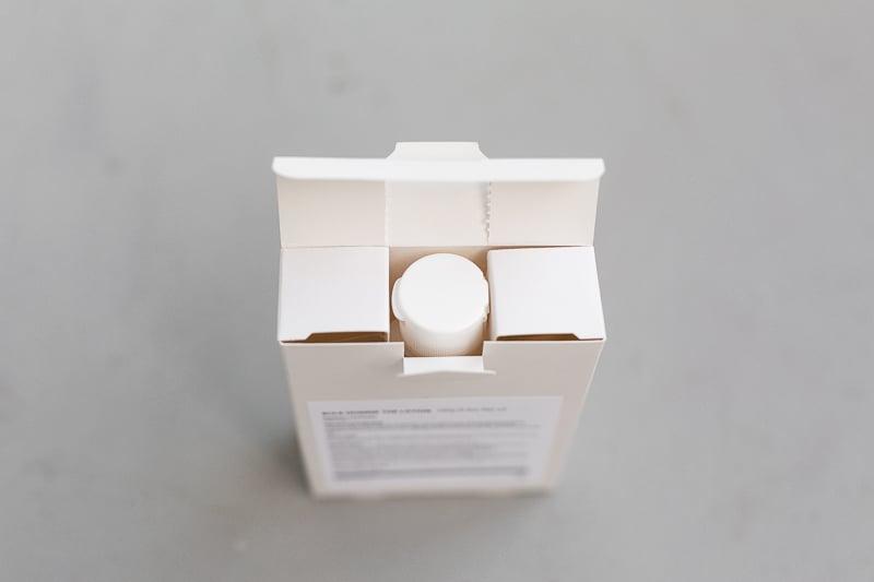 Bulk Homme packaging details
