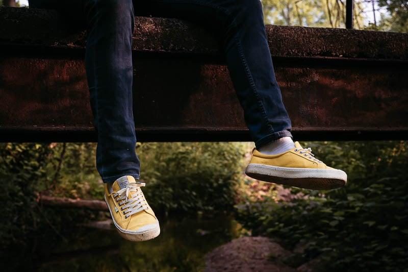Cariuma OCA Low Yellow Sneakers