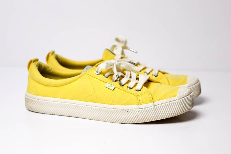 Cariuma Sneakers against white background