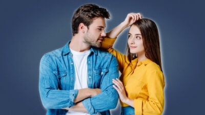 How to get a girlfriend Attractive couple looking into each others eyes with her leaning on him