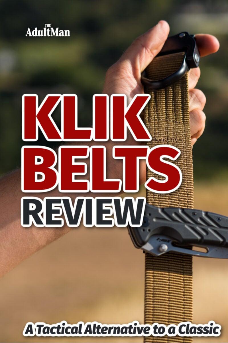 Klik Belts Review: A Tactical Alternative to a Classic