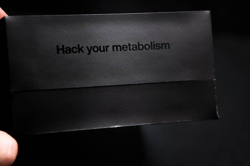 Lumen metabolism tracker packaging