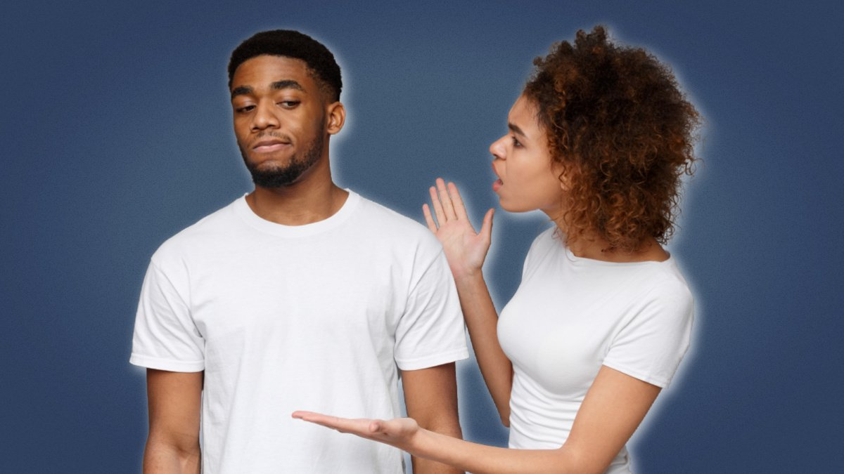 Should I breakup with my girlfriend black couple in argument with girl upset at boyfriend ignoring her