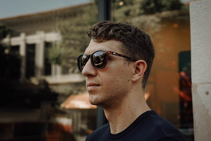 knockaround sunglasses profile view