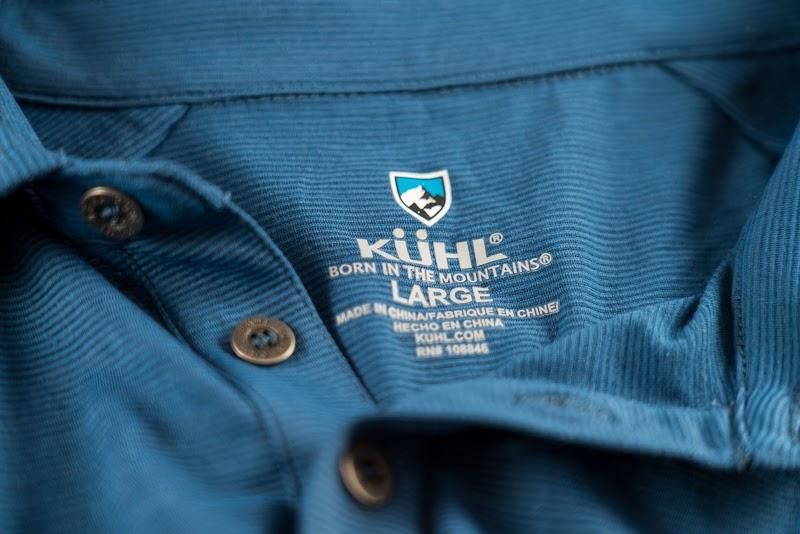 Details on Kuhl shirt