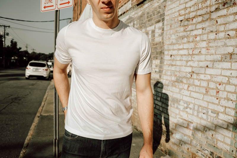 KOTN plain white tshirt